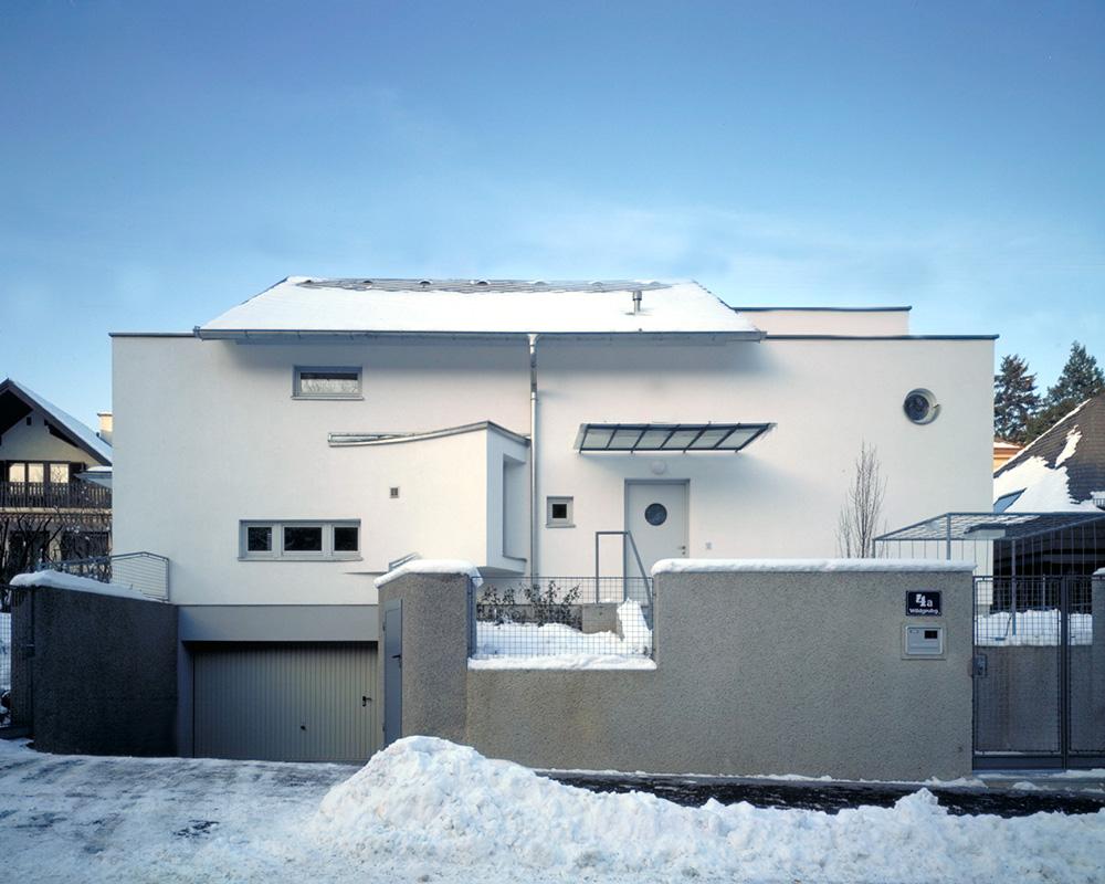 GMMK , Foto; Elisabeth Mayr-Keber , Gert M. MAYR-KEBER ZT-GmbH. Haus am Kahlenberg 1990-1991